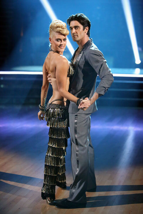French actor Gilles Marini and his partner Peta Murgatroyd received 25.5 out of 30 points from the judges for their Jive on week two of 'Dancing With The Stars: All-Stars,' which aired on Oct. 1, 2012.