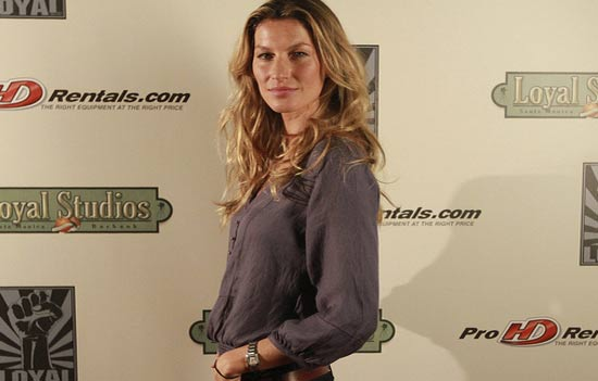 Gisele Bundchen appeared at The United Nations...
