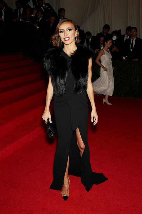 Giuliana Rancic appears at the Metropolitan Museum of Art&#39;s 2014 Costume Institute Benefit gala, celebrating &#39;Charles James: Beyond Fashion,&#39; in New York on May 5, 2014. <span class=meta>(Marion Curtis &#47; Startraksphoto.com)</span>