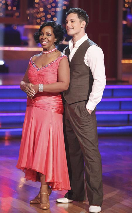 "<div class=""meta image-caption""><div class=""origin-logo origin-image ""><span></span></div><span class=""caption-text"">R&B legend Gladys Knight and her partner Tristan MacManus received 24 out of 30 points from the judges for their Foxtrot on week three of 'Dancing With The Stars,' which aired on April 2, 2012. (ABC Photo)</span></div>"