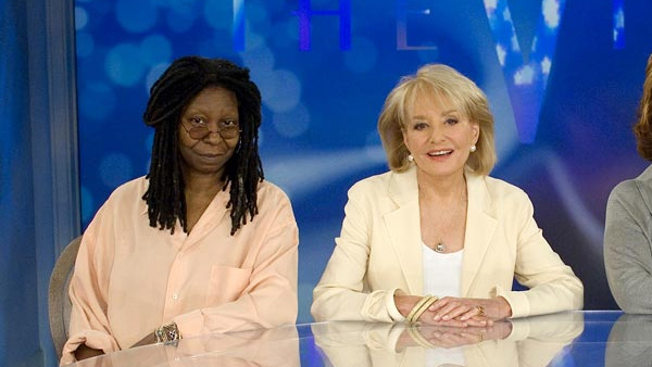 Whoopi Goldberg appears in a photo from the show...
