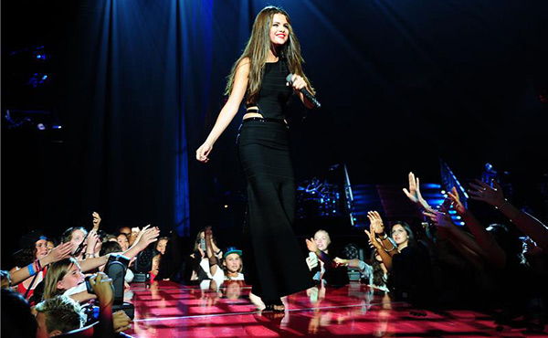 Selena Gomez performs in Vancouver on Aug. 14, 2013, kicking off her Stars Dance World Tour. <span class=meta>(Michael Simon &#47; startraksphoto.com)</span>