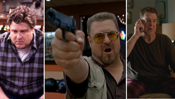 John Goodman appears in scenes from 'Roseanne,' 'The Big Lebowski' and 'Red State.'