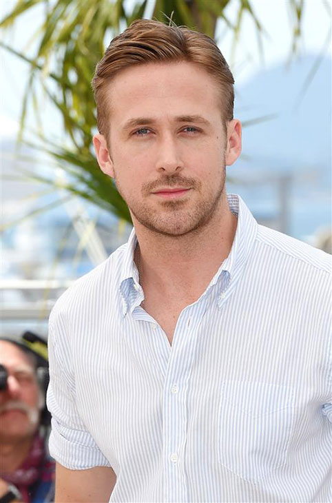 The &#39;Lost-In-His-Eyes&#39; stare: Ryan Gosling appears at a photo call for &#39;Lost River&#39; at the Cannes Film Festival in France on May 20, 2014. <span class=meta>(Nick Sadler &#47; Startraksphoto.com)</span>