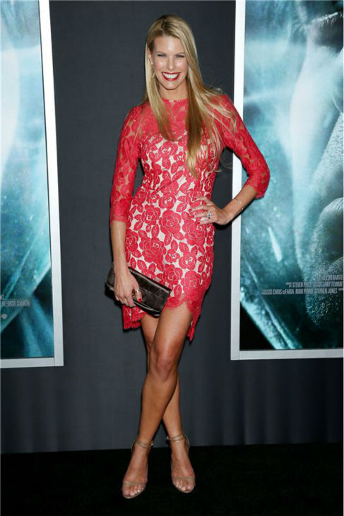 "<div class=""meta image-caption""><div class=""origin-logo origin-image ""><span></span></div><span class=""caption-text"">Beth Ostrosky Stern, wife of shock jock and 'America's Got Talent' judge Howard Stern, appears at the premiere of 'Gravity' at AMC Lincoln Square in New York on Oct. 1, 2013. (Marion Curtis / Startraksphoto.com)</span></div>"