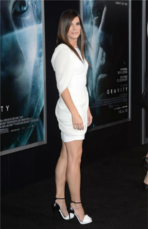 Sandra Bullock appears at the premiere of &#39;Gravity&#39; at AMC Lincoln Square in New York on Oct. 1, 2013. <span class=meta>(Humberto Carreno &#47; Startraksphoto.com)</span>