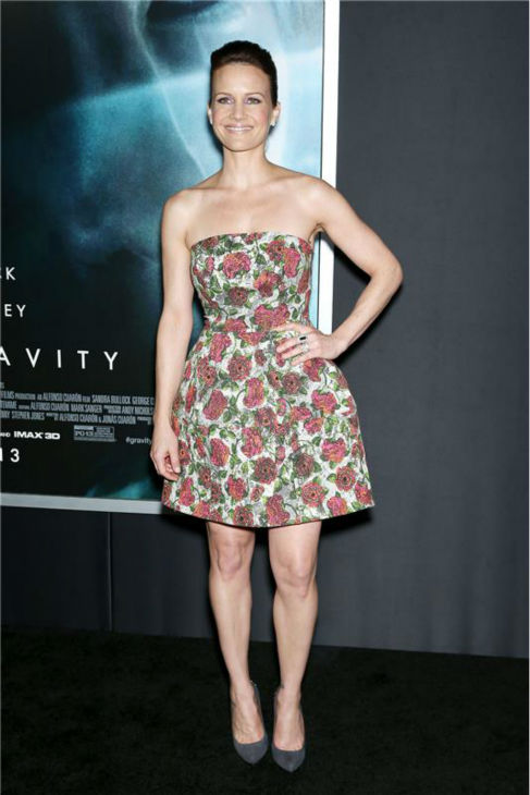 "<div class=""meta ""><span class=""caption-text "">Carla Gugino appears at the premiere of 'Gravity' at AMC Lincoln Square in New York on Oct. 1, 2013. (Marion Curtis / Startraksphoto.com)</span></div>"