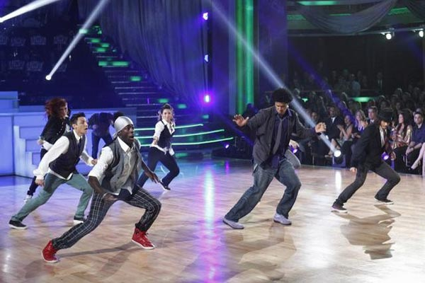 "<div class=""meta ""><span class=""caption-text "">The week's 'AT&T's Spotlight' performance featured Richard 'Steelo' Vazquez, who performed with the Groovaloos on 'Dancing With The Stars: The Results Show' on Tuesday, May 1, 2012. 'Steelo' was one of the top B-boy dancers working in music, film and television and a member of The Groovaloos dance group. In 2011, he suffered a brain aneurysm and he lost the ability to speak and walk. He spent six months in the hospital and now goes to physical rehabilitation five days a week, seven hours a day. 'Steelo' reunited with the Groovaloos for the first time since his aneurysm.  (ABC)</span></div>"