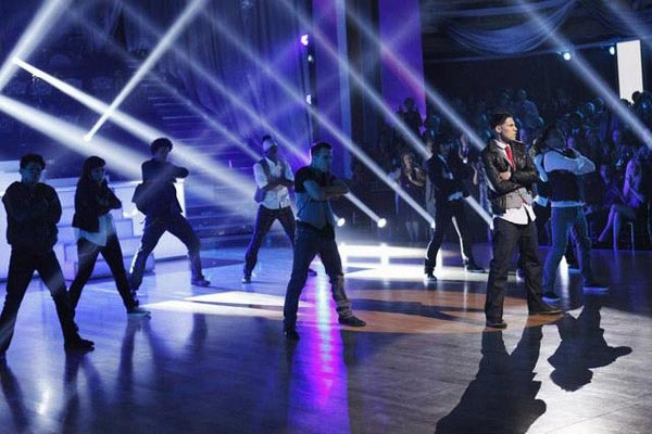 The week's 'AT&T's Spotlight' performance featured Richard 'Steelo' Vazquez, who performed with the Groovaloos on 'Dancing With The Stars: The Results Show' on Tuesday, May 1, 2012.
