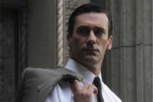 "<div class=""meta ""><span class=""caption-text "">Before becoming Don Draper in the hit drama series 'Mad Men,' Jon Hamm worked as a high school drama teacher, a set dresser for softcore pornographic films and as a waiter.  'You gotta move cameras around, and ashtrays,"" he told the UK newspaper The Guardian in 2010, regarding his adult movie experience. 'Continuity is apparently an issue.'  (Lionsgate Television)</span></div>"
