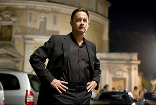 Tom Hanks in a scene from the 2009 film, 'Angels & Demons.'