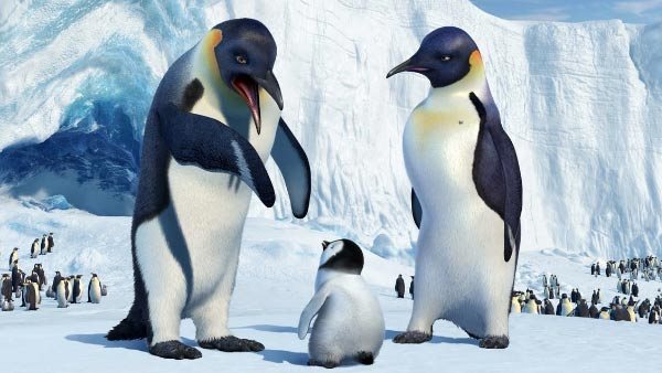 Hugh Jackman voiced the character Memphis in the animated comedy &#39;Happy Feet.&#39; He played the father of Mumble and was often serenading his on-screen wife Norma.Pictured: Hugh Jackman&#39;s character Memphis appears in a scene from the 2006 film &#39;Happy Feet.&#39; <span class=meta>(Warner Bros. Pictures &#47; Village Roadshow Pictures)</span>