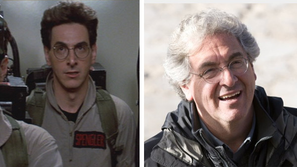 Harold Ramis appears as Dr. Egon Spengler in the 1984 film 'Ghostbusters.' / Harold Ramis appears in a scene from the 2009 movie 'Year One.'