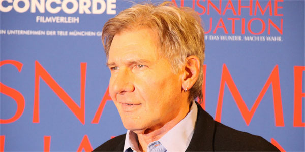 Harrison Ford appears in an event photo in...