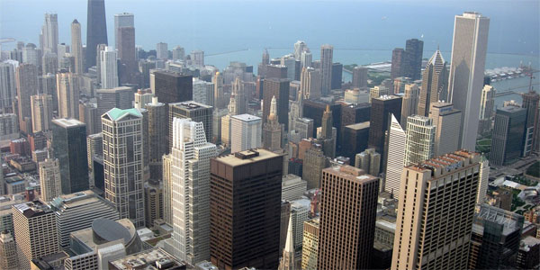A photo of Chicago taken on June 28, 2006.