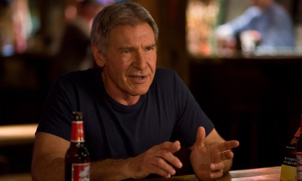 Harrison Ford, who appeared in the 2010 film &#39;Extraordinary Measures,&#39; has a famous scar on his chin that he received in a car accident when he was 20 years old.The scar is rather conspicuous, and often in his films there is an explanation given as to where his character recieved it. <span class=meta>(CBS Films)</span>
