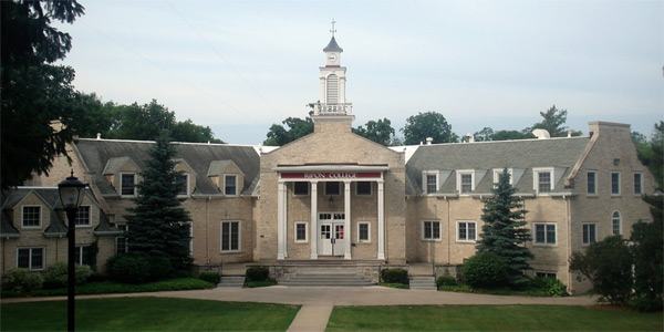 A photo of Ripon College in Wisconsin taken in...