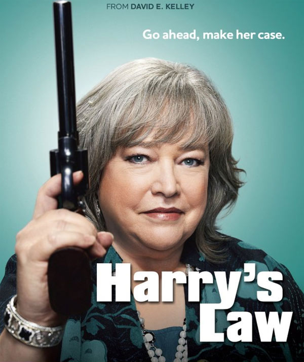 &#39;Harry&#39;s Law,&#39; featuring Kathy Bates, Nathan Corddry, and Brittany Snow, returns to NBC for a second season starting on Sept. 21, 2011 and will air on Wednesdays from 9 to 10 p.m. <span class=meta>(Warner Bros. Television)</span>