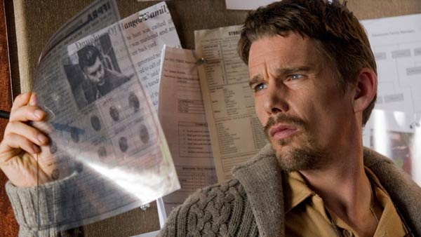 Ethan Hawke turns 42 on Nov. 6, 2012. The actor, writer and director is known for his work in films such as &#39;Dead Poets Society,&#39; &#39;Training Day,&#39; &#39;Sinister,&#39; &#39;Daybreakers&#39; and Gattaca.&#39;Pictured: Ethan Hawke appers in a stil from the 2012 film, &#39;Sinister.&#39; <span class=meta>(Summit Entertaniment)</span>