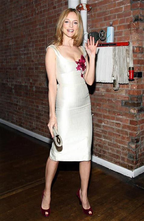 Heather Graham wears a L&#39;Wren Scott dress at the Bent on Learning benefit at the Puck Building in New York on April 28, 2010. <span class=meta>(Sara Jaye Weiss &#47; Startraksphoto.com)</span>