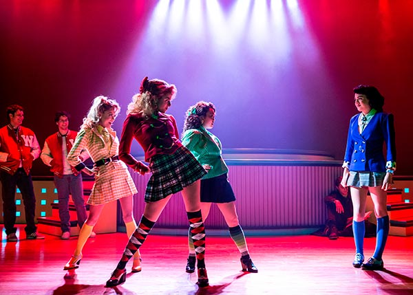 "<div class=""meta image-caption""><div class=""origin-logo origin-image ""><span></span></div><span class=""caption-text"">This image released by Vivacity Media Group shows the cast in a scene from the musical 'Heathers' performing at New World Stages in New York. (AP Photo / Vivacity Media Group, Chad Batka)</span></div>"