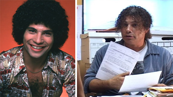 Robert Hegyes appears in a scene from 'Welcome Back, Kotter,' which ran between 1975 and 1979. / Robert Hegyes appears in a scene from the Internet series 'The Venice Walk.'