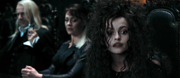 "<div class=""meta ""><span class=""caption-text "">Bellatrix Lestrange (Helena Bonham Carter) appears in a scene from the 2011 film 'Harry Potter and the Deathly Hallows - Part 1.' (Warner Bros. Pictures)</span></div>"