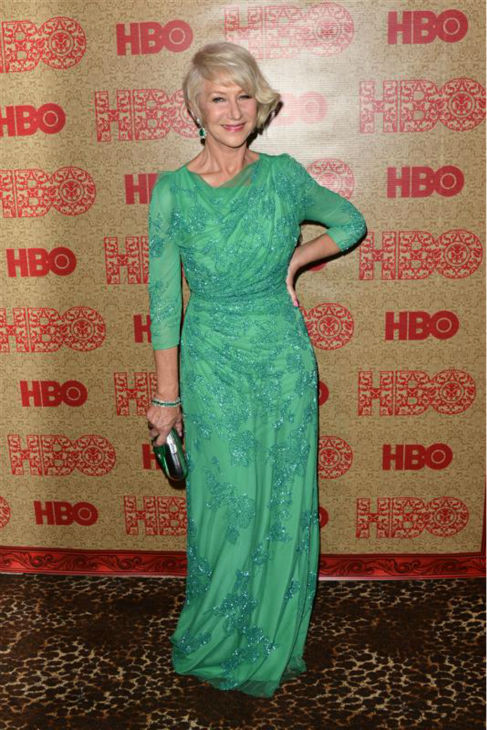 "<div class=""meta ""><span class=""caption-text "">Helen Mirren (nominated for 'Phil Spector') appears at HBO's 2014 Golden Globe Awards after party at the Circa 55 restaurant in Beverly Hills, California on Jan. 12, 2014. (Tony DiMaio / Startraksphoto.com)</span></div>"