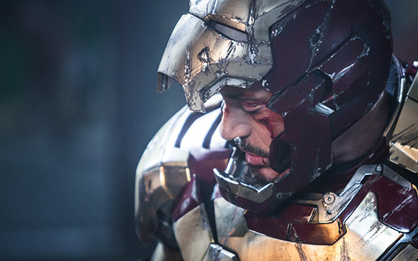 Tony Stark&#47;Iron Man &#40;Robert Downey Jr.&#41; is seen in a scene from Marvel&#39;s &#39;Iron Man 3.&#39; <span class=meta>(Marvel &#47; Walt Disney Pictures)</span>