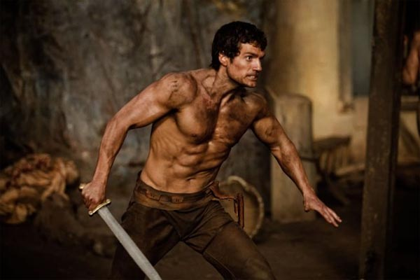 Henry Cavill in a scene from the 2011 film, 'Immortals.'