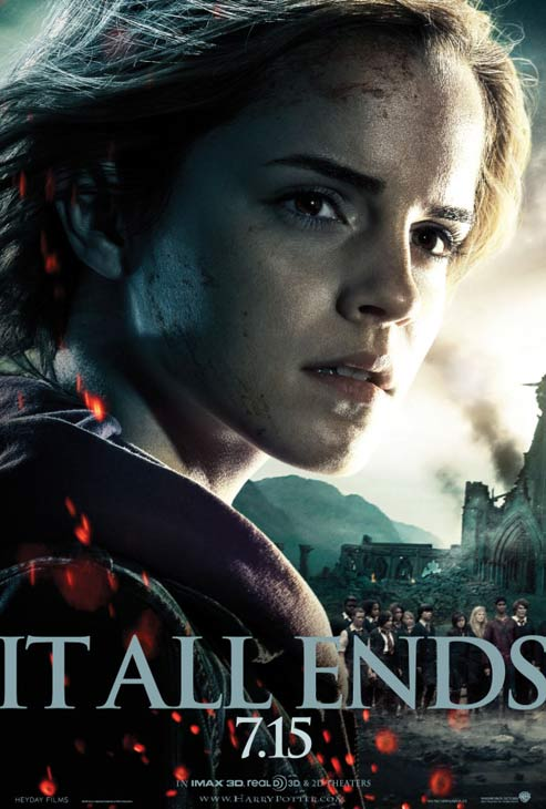 "<div class=""meta ""><span class=""caption-text "">Emma Watson appears as Hermione Granger in a promotional photo for the film 'Harry Potter and the Deathly Hallows - Part 2.' (Warner Bros. Pictures)</span></div>"