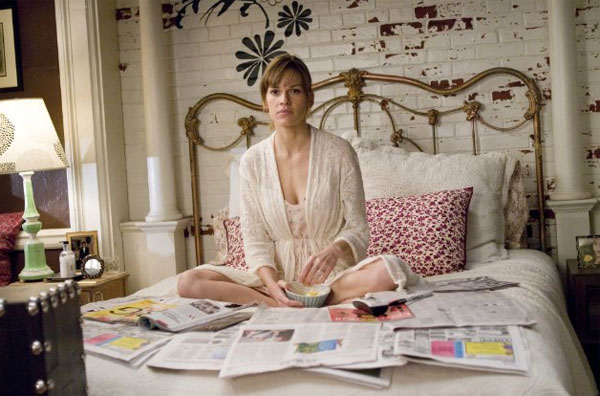 "<div class=""meta ""><span class=""caption-text "">Hilary Swank turns 38 on July 30, 2012. The actress is known for movies such as 'Million Dollar Baby,' 'Boys Don't Cry' and 'P.S. I Love You.'(Pictured: Hilary Swank appears in a scene from the 2007 film 'P.S. I Love You.') (Alcon Entertainment / Grosvenor Park Productions / Wendy Finerman Productions)</span></div>"
