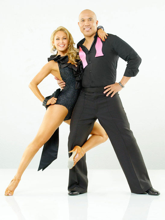 Hines Ward, Steelers wide receiver and two-time Super Bowl XL MVP, joins Kym Johnson, who returns for her ninth season on season 12 of &#39;Dancing with the Stars,&#39; which premieres on March 21 at 8 p.m. <span class=meta>(ABC Photo&#47; Bob D&#39;Amico)</span>