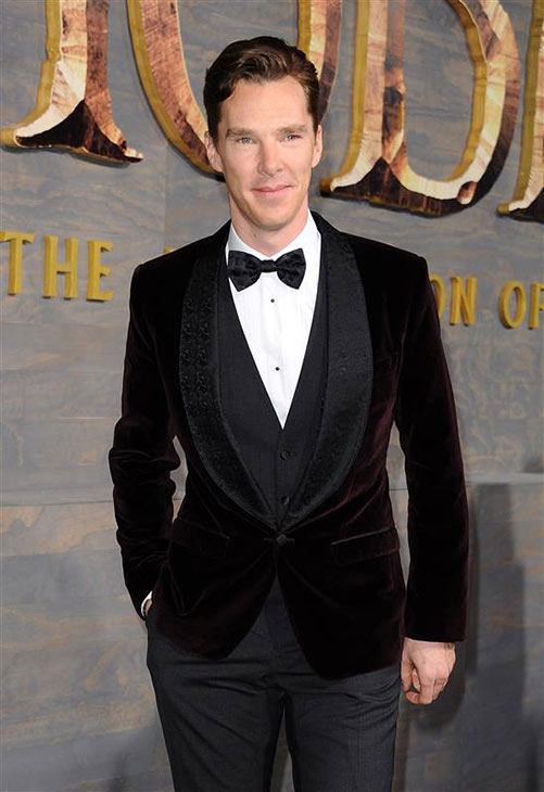 Benedict Cumberbatch appears at the premiere of &#39;The Hobbit: The Desolation of Smaug&#39; in Los Angeles on Dec. 2, 2013. He provides the voice of Smaug the dragon. <span class=meta>(Sara De Boer &#47; Startraksphoto.com)</span>