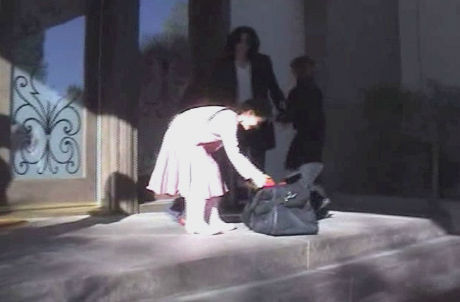 "<div class=""meta image-caption""><div class=""origin-logo origin-image ""><span></span></div><span class=""caption-text"">Michael Jackson presents his children, Prince, Paris and Blanket, with a chocolate labrador puppy, Kenya, in this undated home video. The video was played during his wrongful death trial in Los Angeles on June 26, 2013. His family is suing concert promoter AEG Live. (OTRC / Official trial exhibit - Los Angeles Superior Court)</span></div>"