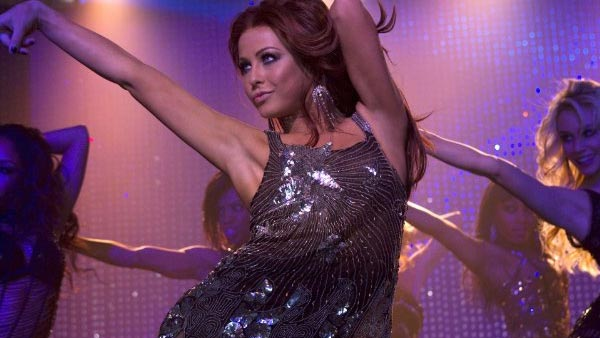 Julianne Hough&#39;s first big screen role was in the 2010 film &#39;Burlesque&#39; which starred singers Cher and Christina Aguilera.Hough described the moves from &#39;Burlesque&#39; as tougher than those she had to perform on &#39;Dancing With The Stars.&#39;&#40;Pictured: Julianne Hough appears in a photo from the 2010 film &#39;Burlesque.&#39;&#41; <span class=meta>(Screen Gems &#47; De Line Pictures)</span>