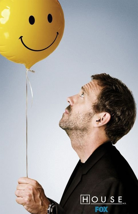 (Pictured: Hugh Laurie appears as Dr. Gregory House in a promotional photo for the FOX series 'House.')