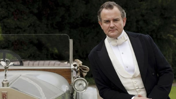 (Pictured: Hugh Bonneville appears in a scene from the show 'Downton Abbey.')