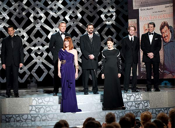 Jon Cryer, Anthony Michael Hall, Molly Ringwald, Judd Nelson, Ally Sheedy, Macaulay Culkin, and Matthew Broderick at the 82nd Annual Academy Awards at the Kodak Theatre in Hollywood, CA, on Sunday, March 7, 2010. <span class=meta>(Michael Yada &#47; &copy;A.M.P.A.S.)</span>