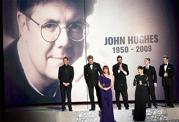 Jon Cryer, Anthony Michael Hall, Molly Ringwald, Judd Nelson, Ally Sheedy, Macaulay Culkin, and Matthew Broderick at the 82nd Annual Academy Awards at the Kodak Theatre in Hollywood, CA, on Sunday, March 7, 2010.