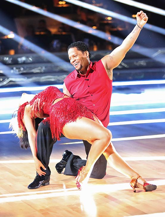 Actor and comedian D.L. Hughley and his partner Cheryl Burke received 12 out of 30 points from the judges for their Cha Cha Cha  routine on the season 16 premiere of &#39;Dancing With The Stars,&#39; which aired on March 18, 2013 <span class=meta>(ABC Photo &#47; Adam Taylor)</span>