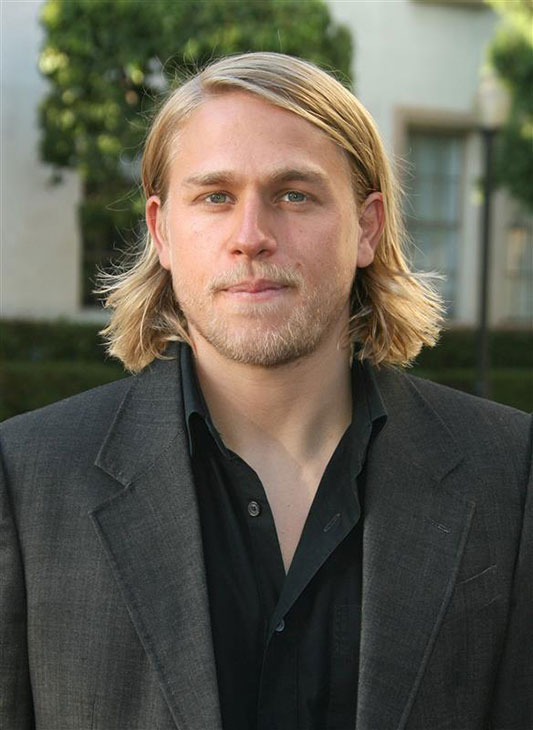 The &#39;Two-Shades-of-Gray&#39; stare: Charlie Hunnam of the FX series &#39;Sons of Anarchy&#39; attends the show&#39;s premiere in Hollywood, California on Aug. 24, 2008. <span class=meta>(Andy Fossum &#47; Startraksphoto.com)</span>