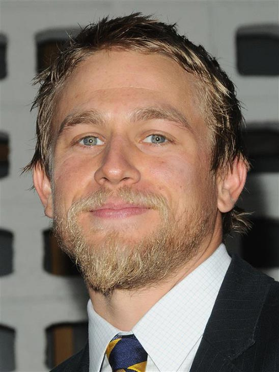 The &#39;Perfect-Look-For-Opie&#39;s-Wedding&#39; stare: Charlie Hunnam of the FX series &#39;Sons of Anarchy&#39; attends the season 4 premiere of the show at the Cinerama Dome in Hollywood, California on Aug. 30, 2011. <span class=meta>(Sara De Boer &#47; Startraksphoto.com)</span>