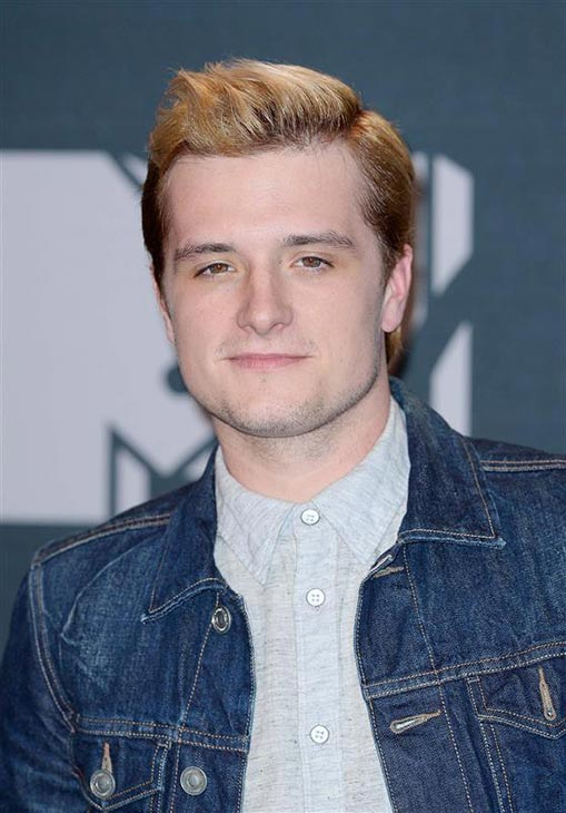 Josh Hutcherson appears backstage at the 2014 MTV Movie Awards at the Nokia Theatre in Los Angeles on April 13, 2014. He stars in &#39;The Hunger Games: Catching Fire,&#39; which won the top award -- Movie of the Year. Hutcherson also won Best Male Performance for his role as Peeta.  <span class=meta>(Lionel Hahn &#47; AbacaUSA &#47; Startraksphoto.com)</span>