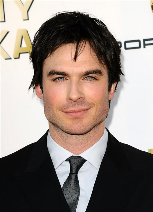 The &#39;Critics&#39;-Choice&#39; stare: Ian Somerhalder of the CW show &#39;The Vampire Diaries&#39; arrives at the 19th annual Critics&#39; Choice Movie Awards at the Barker Hangar on Thursday, Jan. 16, 2014, in Santa Monica, Calif.  <span class=meta>(Sara De Boer &#47; Startraksphoto.com)</span>