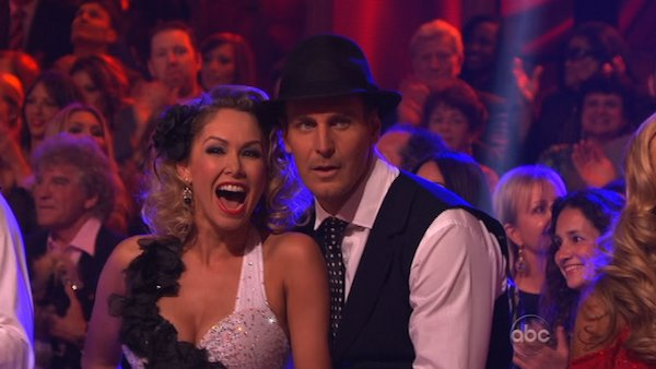 Actor Ingo Rademacher and his partner Kym Johnson prepare to dance on week 2 of &#39;Dancing With The Stars,&#39; which aired on March 25, 2013. <span class=meta>(ABC Photo &#47; Adam Taylor)</span>