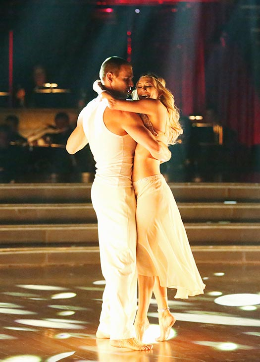 "<div class=""meta ""><span class=""caption-text "">Actor Ingo Rademacher and his partner Kym Johnson received 20 out of 30 points from the judges for their Contemporary routine on the season premiere of 'Dancing With The Stars,' which aired on March 18, 2013. (ABC Photo)</span></div>"