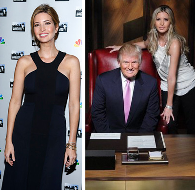 "<div class=""meta image-caption""><div class=""origin-logo origin-image ""><span></span></div><span class=""caption-text"">Ivanka Trump, a businesswoman who works for her father Donald Trump's Trump Organization and stars on his NBC reality show 'The Celebrity Apprentice,' announced on Twitter on Thursday, April 11, 2013 that she and husband Jared Kushner are set to welcome their second child.  'Jared and I and are so excited that Arabella will become a big sister this fall. Thanks for all your good wishes!  xo Ivanka,' she said.  Ivanka and Kushner's daughter Arabella, their first child, was born in July 2011.  (Pictured: Ivanka Trump attends the red carpet premiere of NBC's 'All-Star Celebrity Apprentice' on Feb. 27, 2013. / Ivanka Trump and father Donald Trump appear in a 2013 publicity photo for 'All-Star Celebrity Apprentice.') (Peter Kramer / Douglas Gorenstein / NBC)</span></div>"