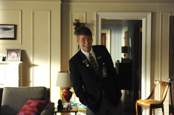 Jack McBrayer in a scene from a 2011 episode of...