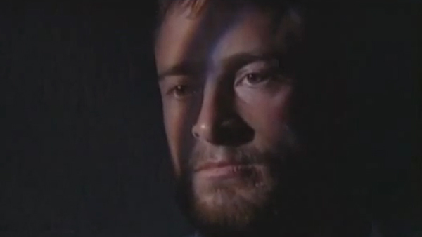 Hugh Jackman appears in a scene from the 1995 Australian television drama 'Corelli.'